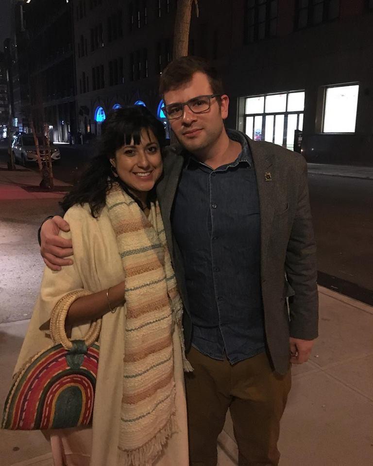 Jeremy Peter Green with girlfriend Stephanie.
