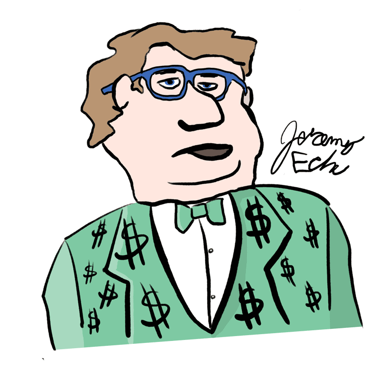 Self-Portrait of an Affordable Trademark Attorney by Jeremy Eche